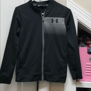 Under armour gray jacket